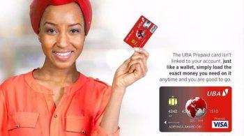 How to get UBA Africard