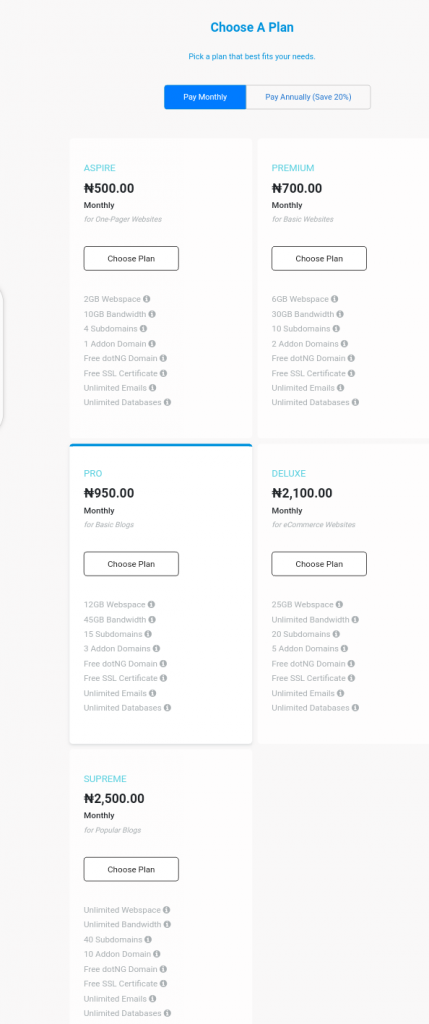 WhoGoHost review Best web hosting in Nigeria