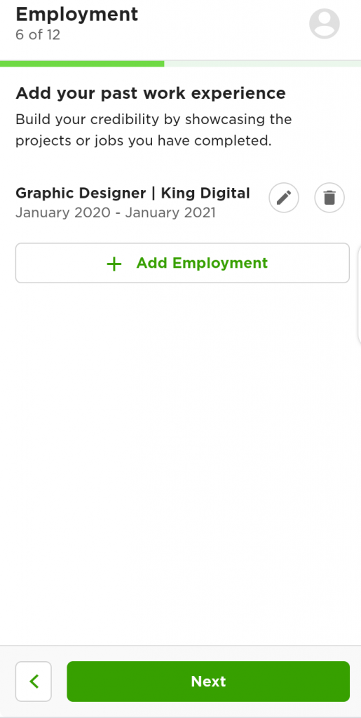 Upwork account approval