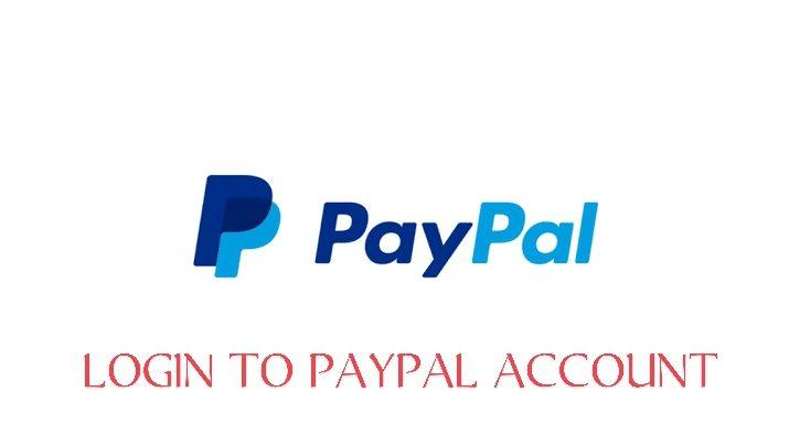 login to PayPal